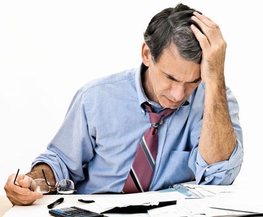 Stess des chefs d'entreprise en temps de crise