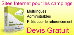 Sites Internet pour les campings